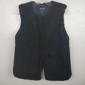 Madewell| Faux Fur Vest M